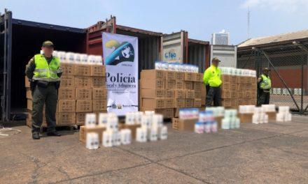 Golpe al contrabando en Cartagena