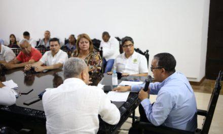 Alcalde Pedrito Pererira se reune con habitantes de la Boquilla