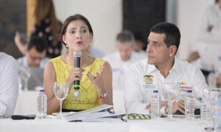 Gobernadores del Caribe presentan proyectos viales para el desarrollo de la región