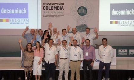 Construyendo Colombia desde las Regiones, motivación de Camacol durante su asamblea.