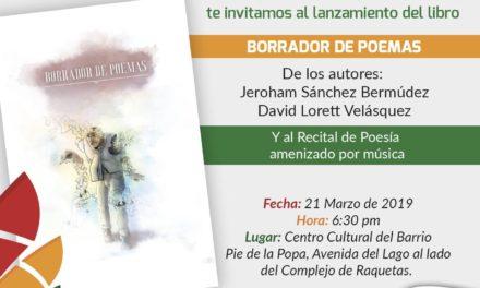 """IPCC conmemora Día Internacional de la Poesía con un """"Borrador de Poemas"""""""