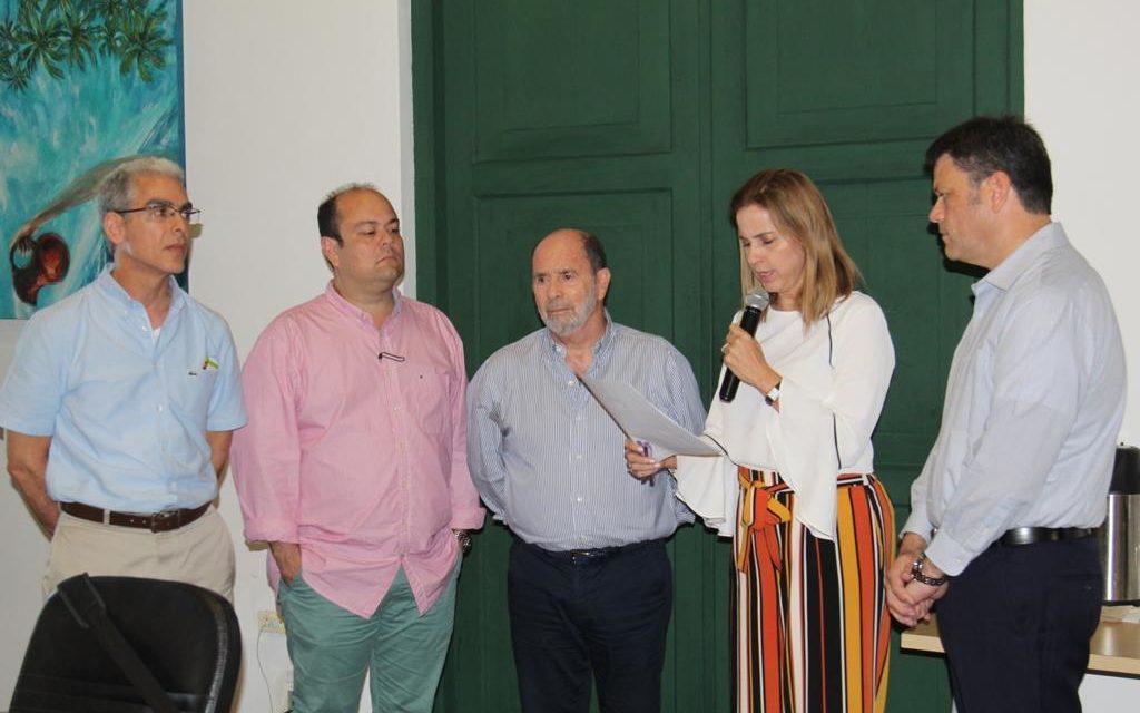 Posesión de nuevos miembros de la junta directiva de la Cámara de Comercio de Cartagena.