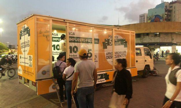 Oficina Móvil de Impuestos llega a los barrios de Cartagena
