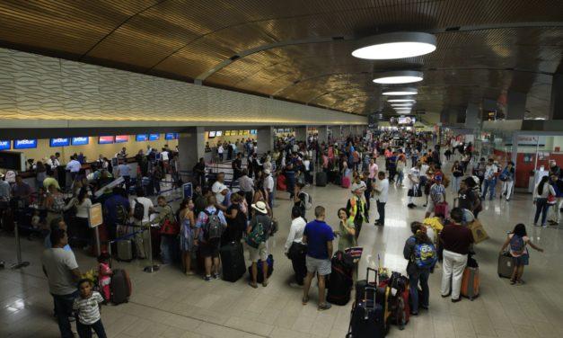 Incremento de pasajeros en el Aeropuerto Rafael Nuñez