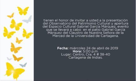 Universidad de Cartagena lanzará el Observatorio  de Patrimonio Cultural