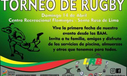 Torneo Interno de Rubgy en Bolívar