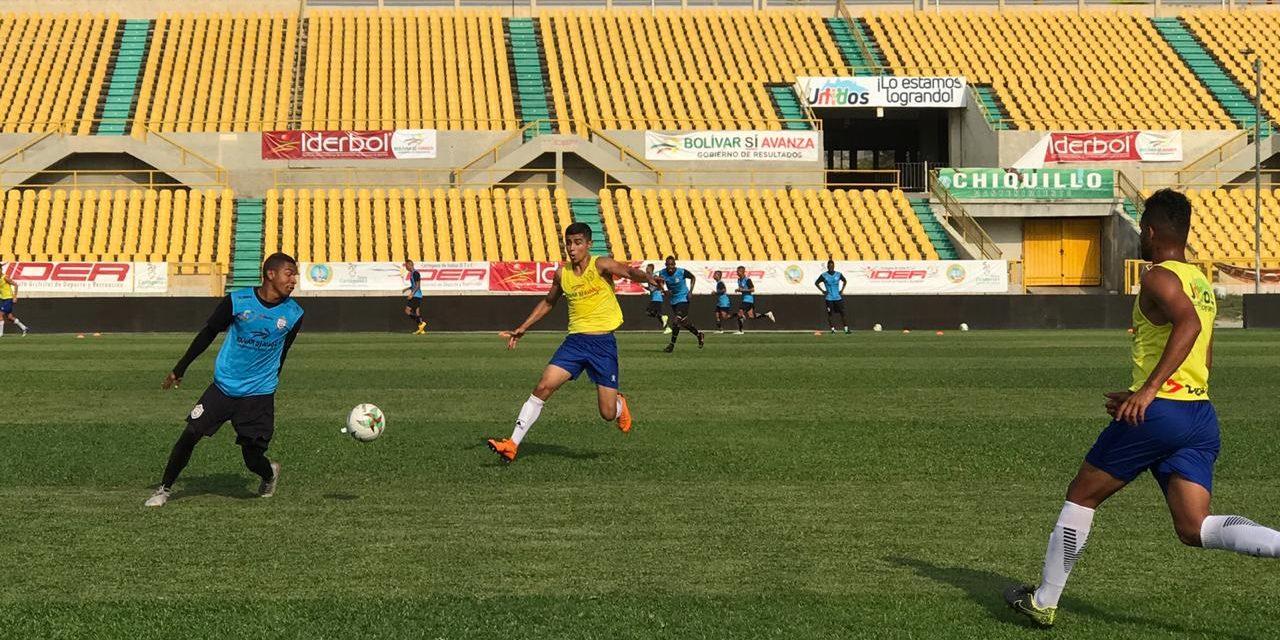 Real Cartagena entrena para enfrentar a Cortuluá