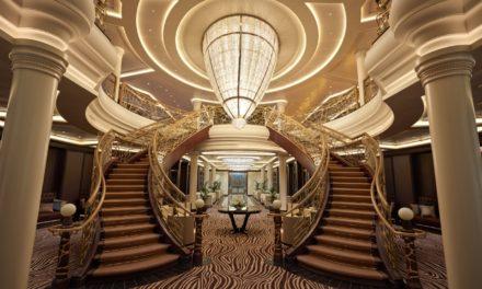 El barco más lujoso del mundo en Cartagena