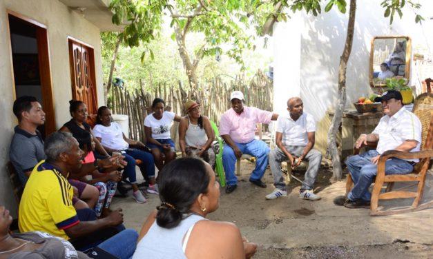 Corregimientos de Cartagena apoyan a William García Tirado