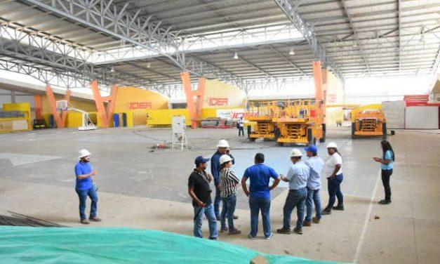 Escenarios deportivos de Cartagena a la altura para los Juegos Nacionales