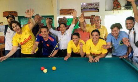 Éxito total en Torneo Departamental de Billar 'A tres bandas masculino y femenino'