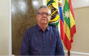 """""""Esperamos que en el mes de septiembre estén concluidas las obras y poder hacer una entrega formal a la comunidad académica"""", dijo Edgar Parra Chacón, rector de la Universidad de Cartagena."""