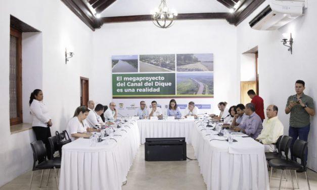 Bolívar, Atlántico y Sucre unidos por recuperar la navegavilidad del Canal del Dique