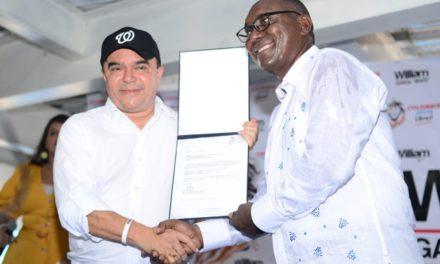 William García recibe aval como candidato a la Alcaldía de Cartagena