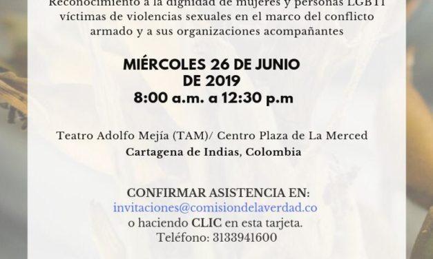 Primer encuentro por la Verdad en Cartagena