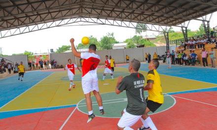 Con los 'Juegos del Magisterio' a ritmo de Tamboras, San Martín de Loba prendió fiesta deportiva