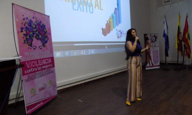 Mujeres Empoderadas para prevenir violencia de género en Cartagena