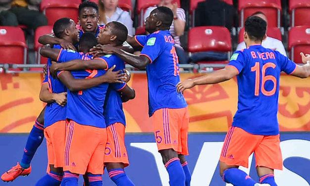 La selección Colombia Sub-20 pasó a 4tos de final