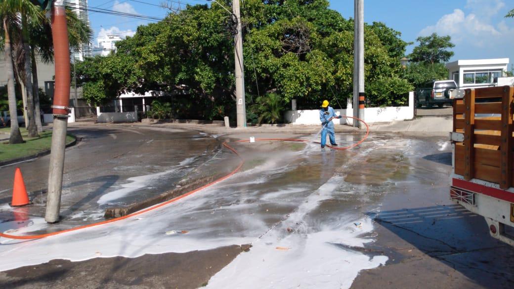 Avanza desobstrucción de alcantarillado en Lo Amador