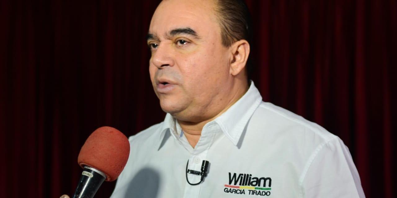 William García ratifica su apoyo a los trabajadores