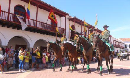 Celebración de independencia de Colombia en Cartagena