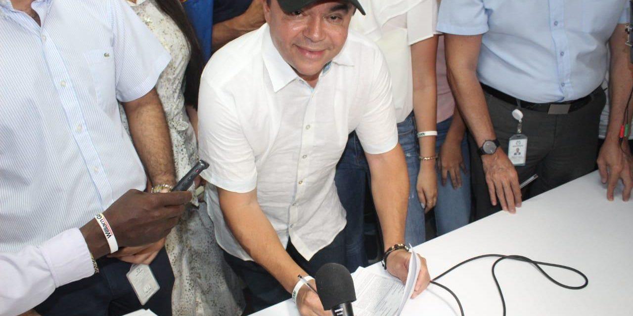 William García Tirado ya es candidato a la Alcaldía de Cartagena