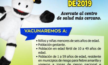 Jornada Nacional de Vacunación