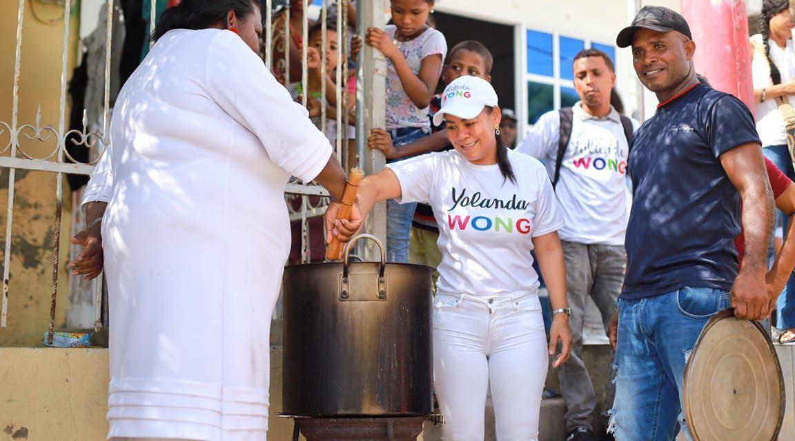 Acompañada de las comunidades, Yolanda Wong Baldiris continúa caminando las calles de Cartagena