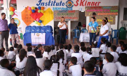 Distrito sigue trabajando por la educación de los niños