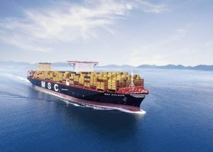 El buque portacontenedores más grande del mundo completa su primer viaje de Asia a Europa