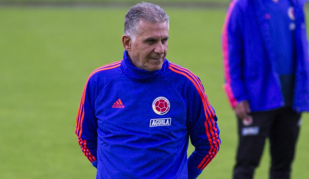 Carlos Queiroz convocó a 24 jugadores para los amistosos