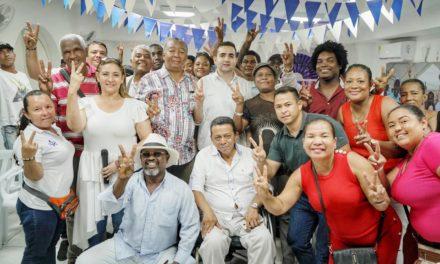Vicente Blel rindió homenaje líderes comunales de Cartagena en el marco del Día del Comunero