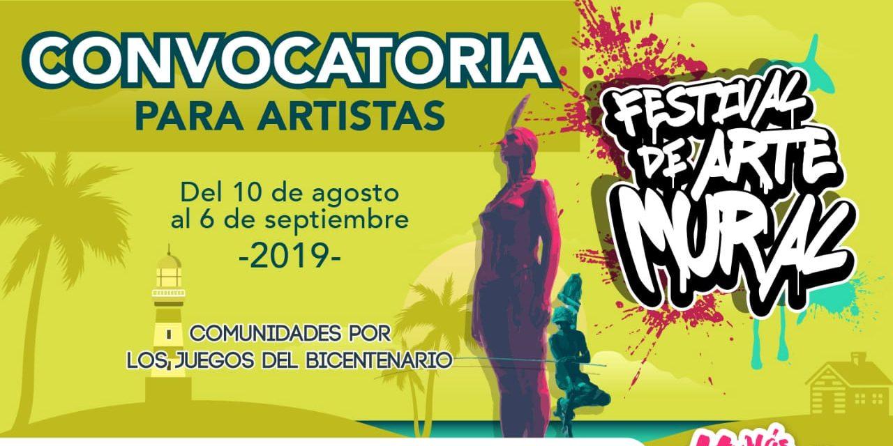 Festival de Arte Mural en Cartagena