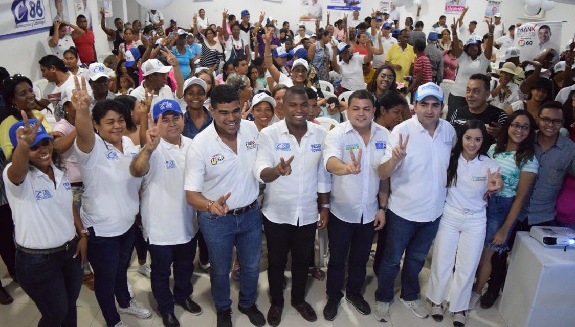 Movimiento Ciudadanos Activos presentó los canditados que respaldará en la contienda electoral del 27 de octubre.