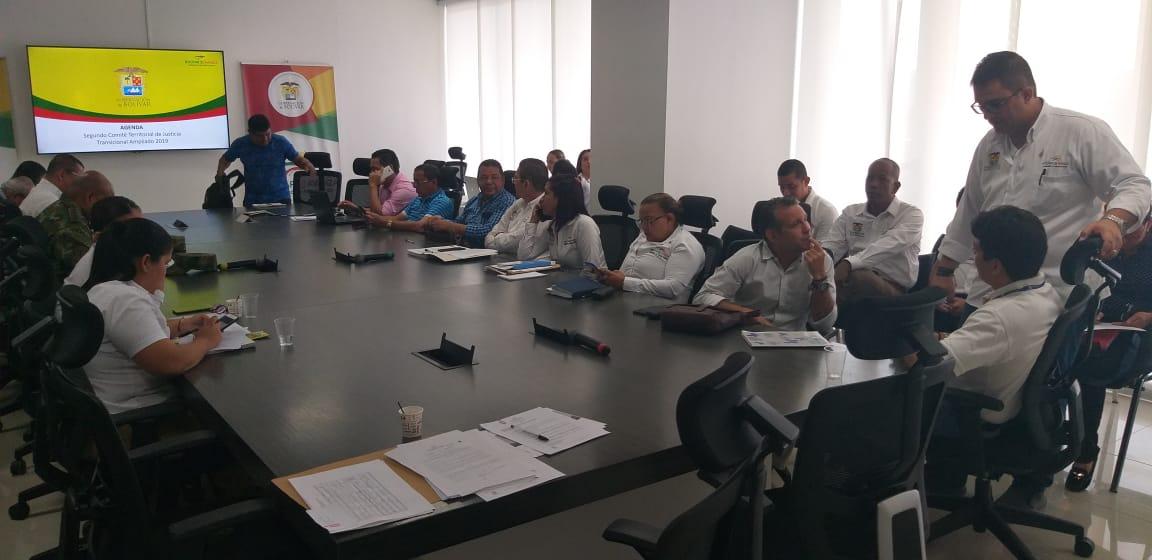 La Gobernación de Bolívar realiza segunda versión del Comité de Justicia Transicional