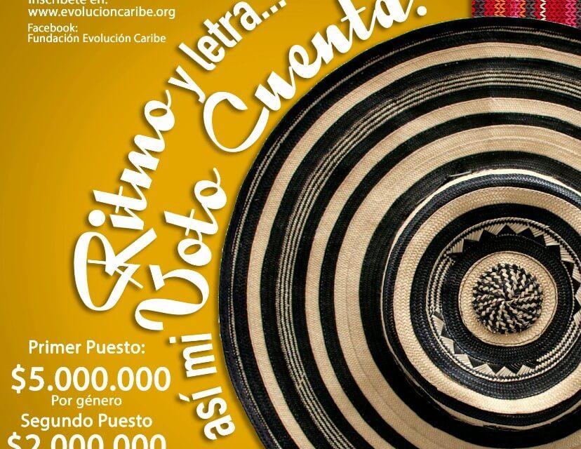 Se aproxima la premiación del concurso musical #PorMiVotoNoDecideOtro