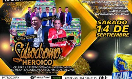 Salsodromo Heroico 2019: puro talento local