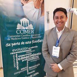 Conferencista internacional en marketing en internet para médicos Fernando Basto, dictó con éxito su conferencia en el IV Simposio CCIMER de Medicina Estética