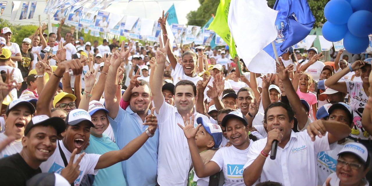 Los municipios del Zodes Dique como Soplaviento, San Cristóbal, Calamar, San Estanislao de Kostka, Arroyo Hondo, Villanueva y Santa Rosa son territorio Vicente Blel Scaff