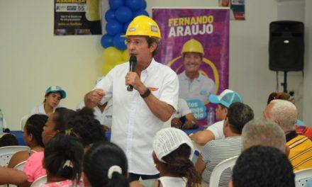 Fernando Araujo dice que donará su sueldo de Alcalde si es escogido