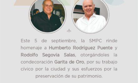 La SMPC rinde homenaje a Rodolfo Segovia Salas y Humberto Rodríguez Puente