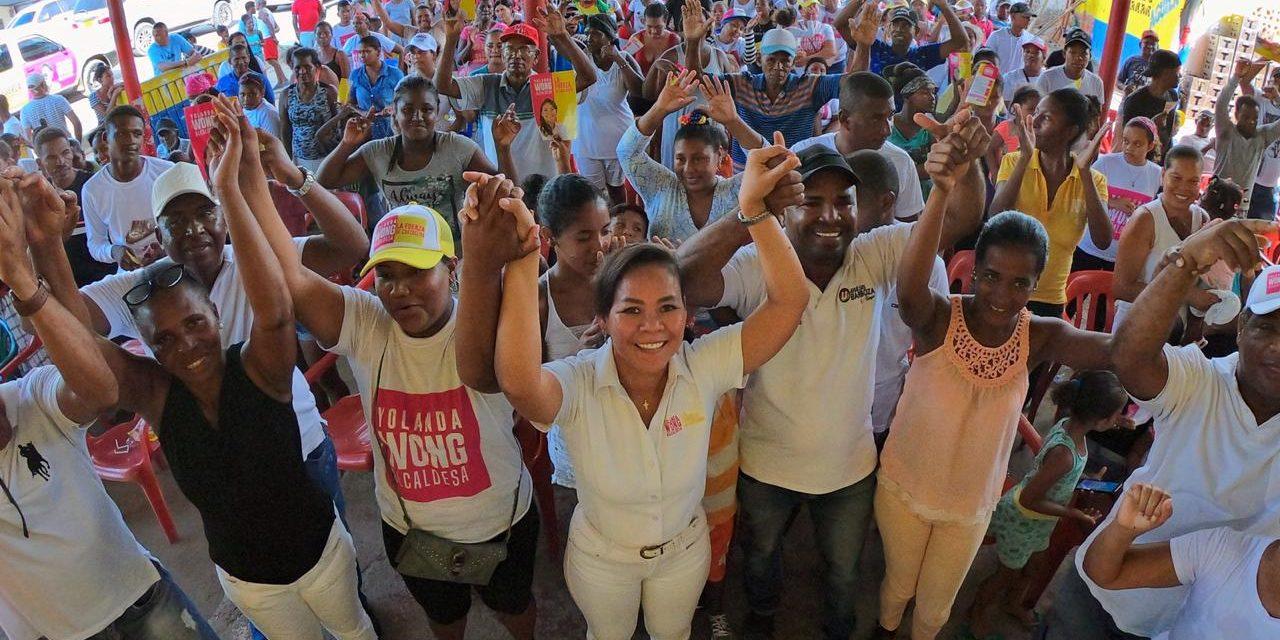 """""""El alcantarillado de Pontezuela y Bayunca será una realidad durante los próximos 4 años"""": Yolanda Wong"""