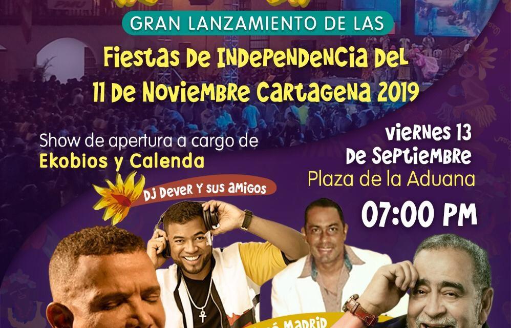 Gran lanzamiento de las Fiestas de Independencia