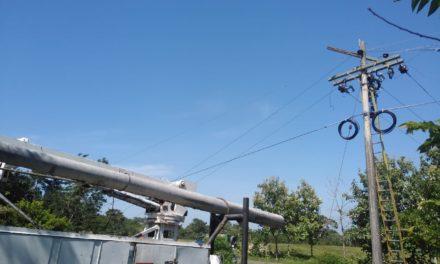 Técnicos de Electricaribe reparan daño en Mahates
