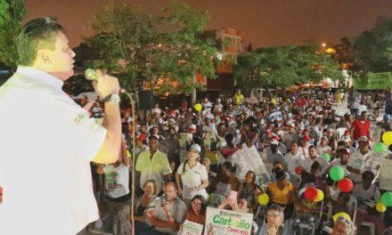 Eduardo Carballo realizó el lanzamiento de su campaña al concejo de Cartagena