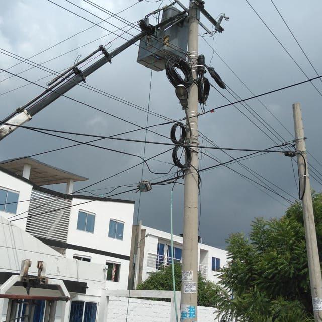 Electricaribe trabaja en el circuito Ternera 7