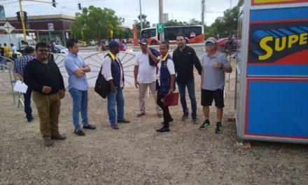 Gestión de Riesgo de desastres del Distrito visita técnica al parque de diversiones Looping Park