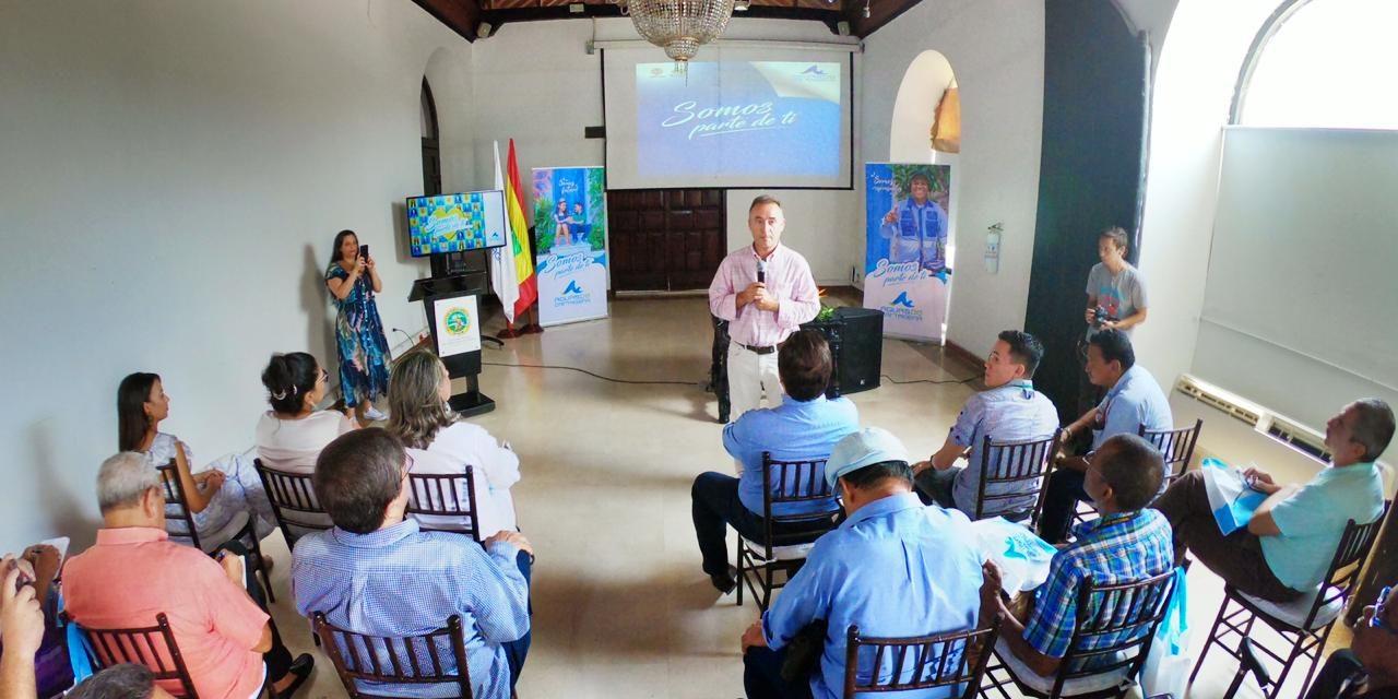 Aguas de Cartagena estrena nueva imagen institucional