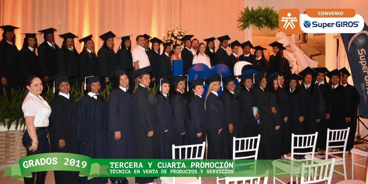 Grados de Técnica en Venta deProductos y Servicios del Sena en convenio con SuperGiros