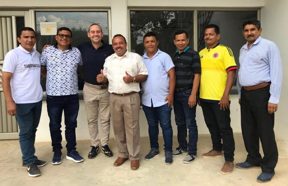 Guillo Gómez a la Asamblea de Bolívar recibe apoyo cristiano